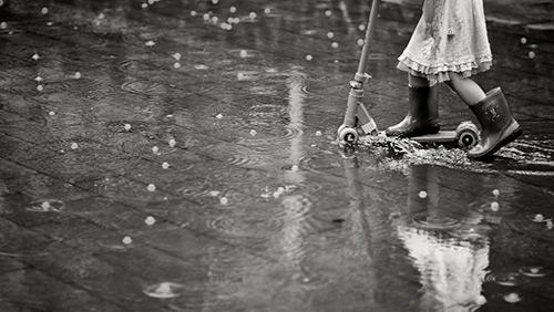 Урок: Фото под дождем - №3