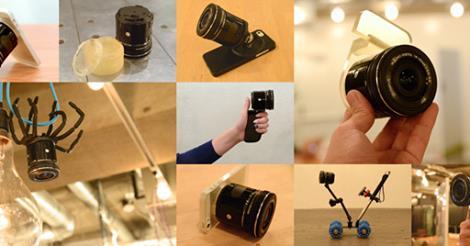 фото объектива камеры