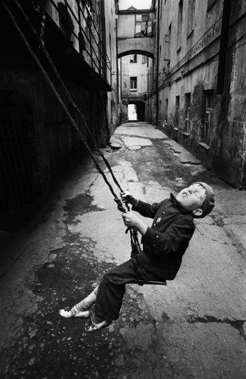 классика черно-белой фотографии