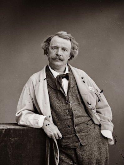Надар (настоящее имя Гаспар-Феликс Турнашон). Феликс Надар, ок. 1865
