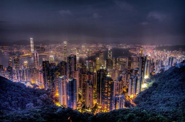 Захватывающие места - Пик Виктория, Гонконг