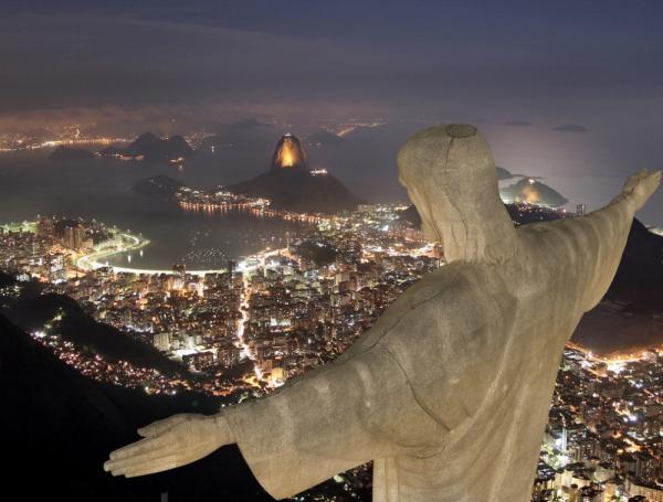 самые захватывающие места в мире - Гора Корковадо, Рио-де-Жанейро, Бразилия