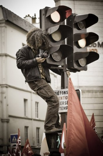 Профессиональный фотограф - Старый стиль. Автор фото: Тимоте Топин