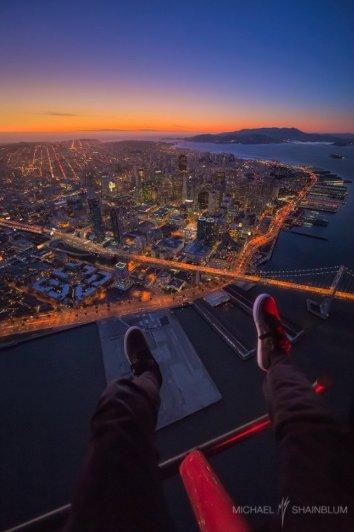 Профессиональный фотограф - Турбулентность. Автор фото: Майкл Шэйнблум
