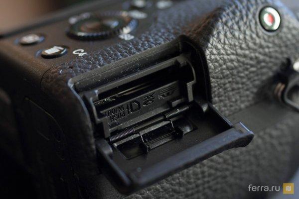 полнокадровый фотоаппарат Sony