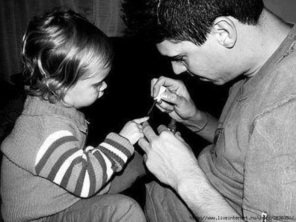- У меня есть дочь, поэтому я буду прекрасен всегда!!! ;)) - №12
