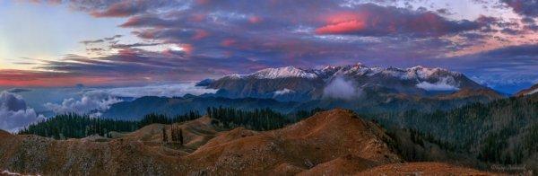 Фёдор Лашков - Сумерки над горами