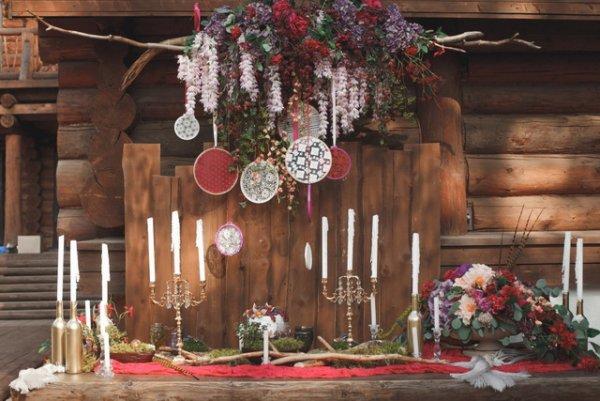 Свадьба в цвете МАРСАЛА - №9