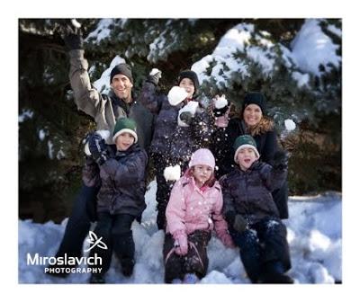 положительные эмоции в жизни человека: в снегу
