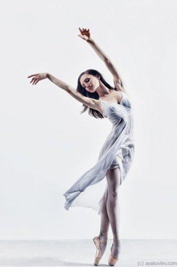 Студийные фото классического направления танца
