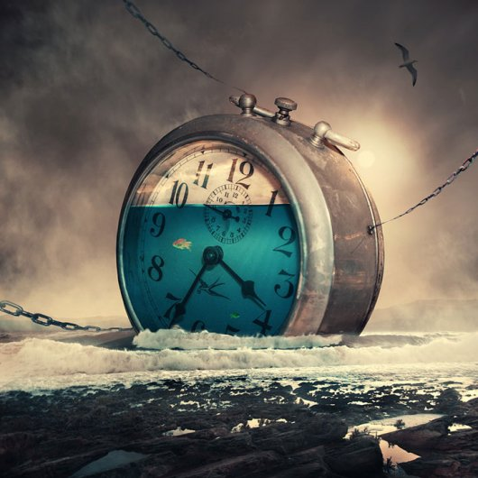 Фотомонтаж про время