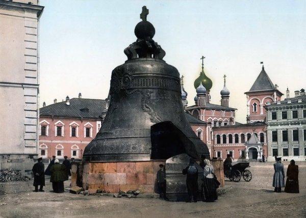 Неизвестный автор. Москва. Царь-колокол. 1900 – 1910-е. Фотохром