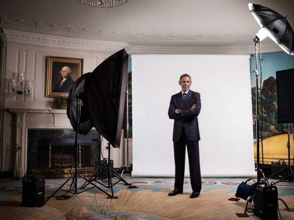 съемка портретного фотографа – президент