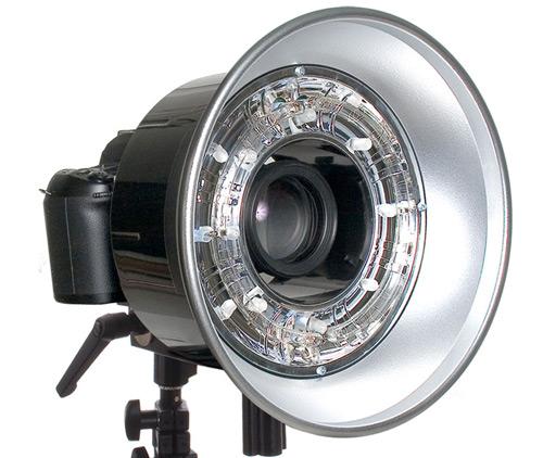 Осветительное оборудование – кольцевая вспышка