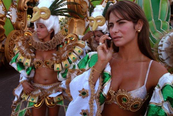 Карнавал в Рио, 2005 – документальный портрет в фотографии