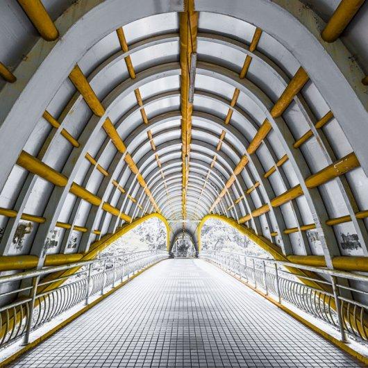Архитектурные фото с геометрией из центра