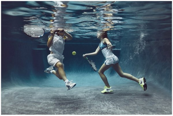 детские портреты теннис
