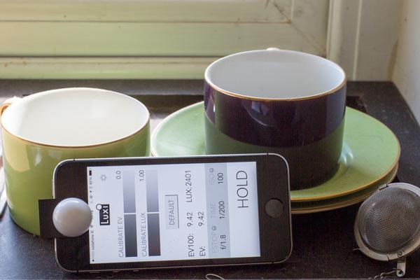 телефон как экспонометр на практике