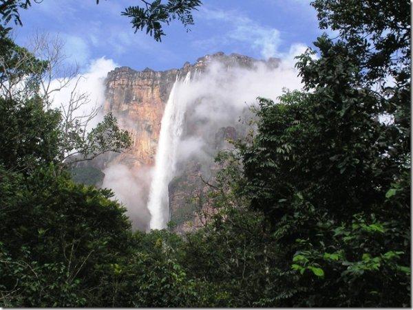 фото водопада Анхель 3