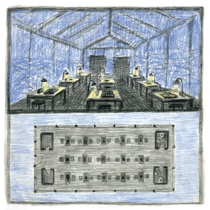 Александр Бродский. Антарктида: павильон для игры в шахматы