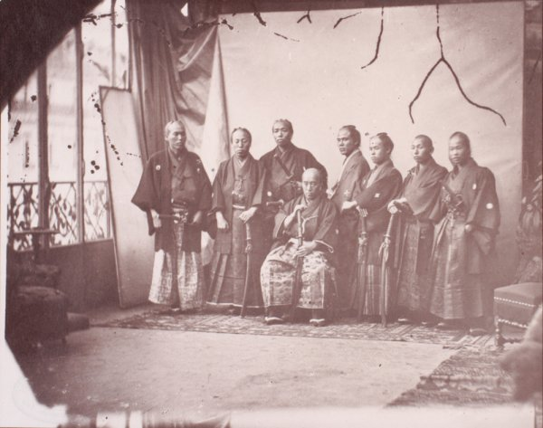 Первая японская миссия в Европу, Франция, 1862