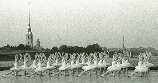 Балет на Стрелке В.О., 1987 год.