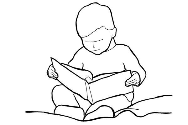 Позы для съемки детей 9