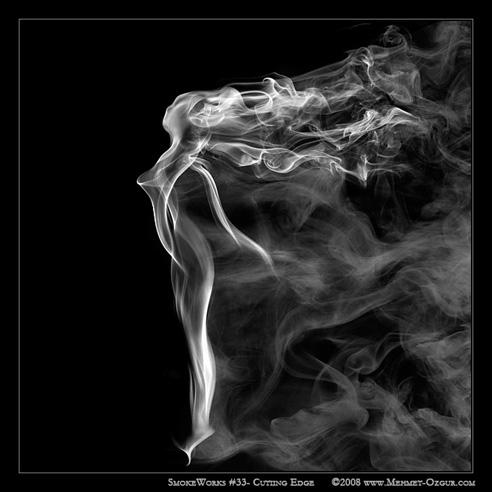 как сделать красивый дым