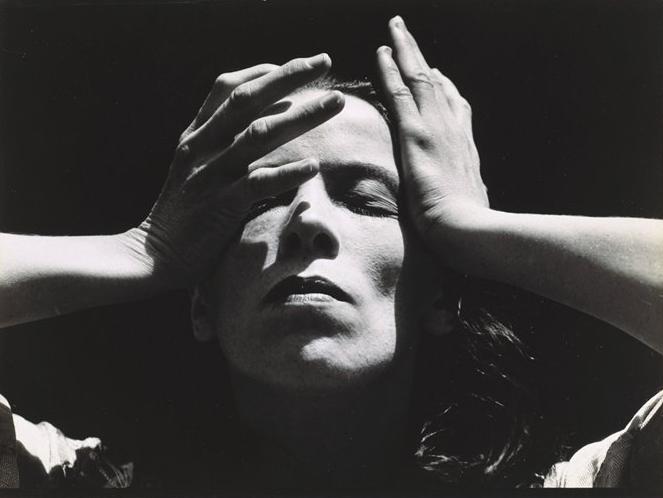 Портрет Марты Грэм. Фото Имоджен Каннингем