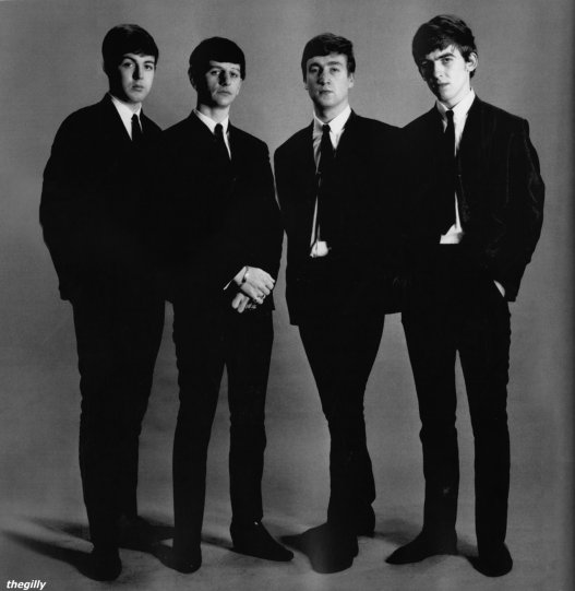 The Beatles. Фото Астрид Кирхгерр