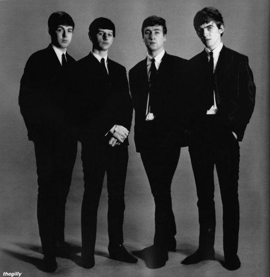 The Beatles. Фото Астрид Кирхгерр