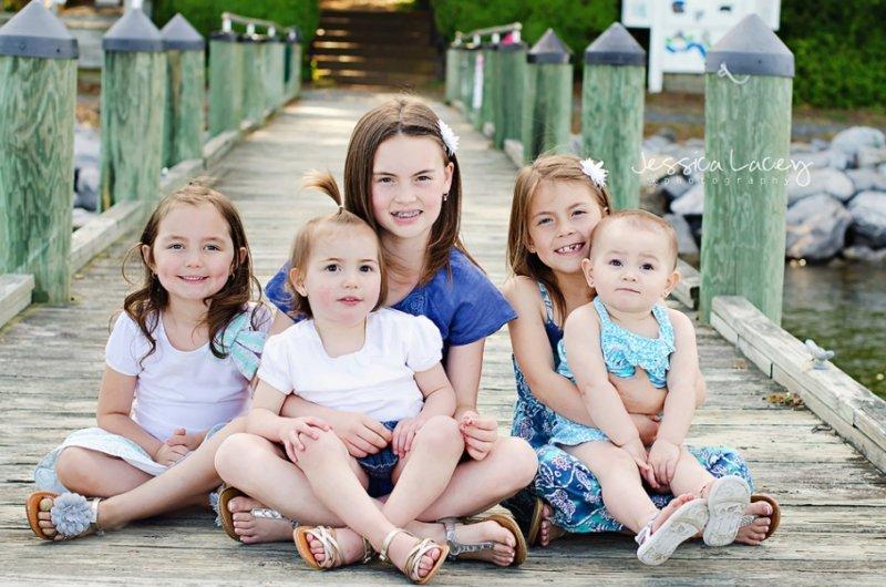 Как фотографировать детский групповой портрет?