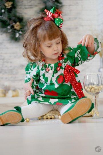 Дети. Новогодние фотосессии - №6