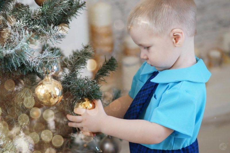 Дети. Новогодние фотосессии - №8