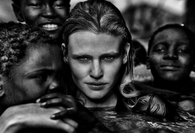 Стивен Лион: модельная фотосессия в знойных условиях. - №1