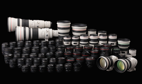 Фотоаппарат для начинающего. Парк профессиональных объективов для зеркального фотоаппарата Canon