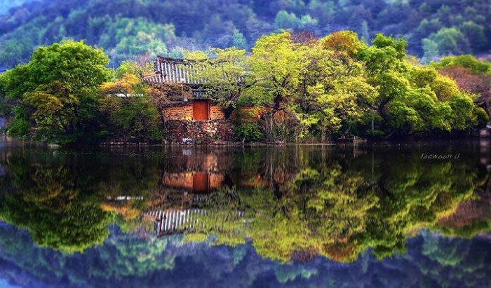 Зеркальные пейзажи Чже Вун Ю - №2