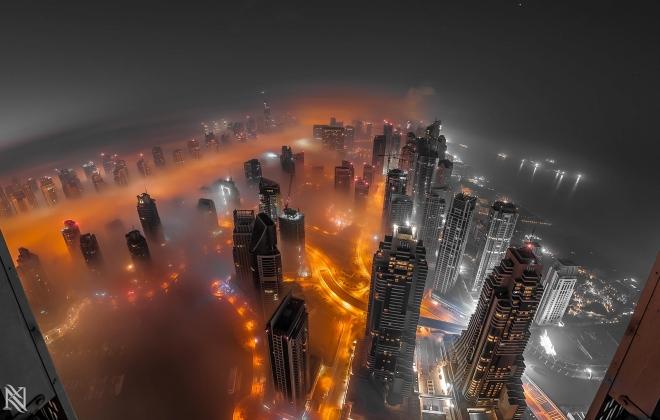 Aото городской пейзаж