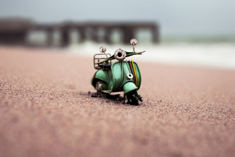 Огромный мир и крошечные машины - №1