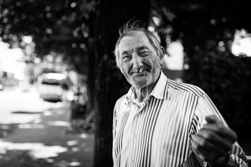 Черно-белая магия уличных портретов Джулио Магнифико - №2