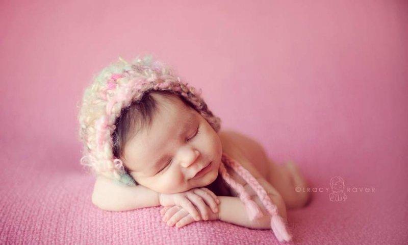 Спящие младенцы в фотографиях Трейси Рейвер - №13