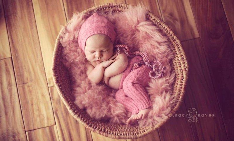 Спящие младенцы в фотографиях Трейси Рейвер - №25