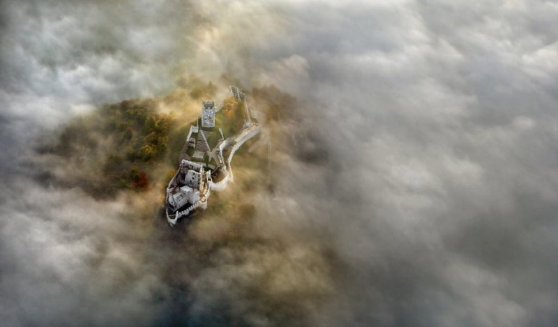 Сказочные фотопейзажи аэрофотографа Матяжа Катера - №3