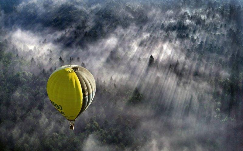 Сказочные фотопейзажи аэрофотографа Матяжа Катера - №22