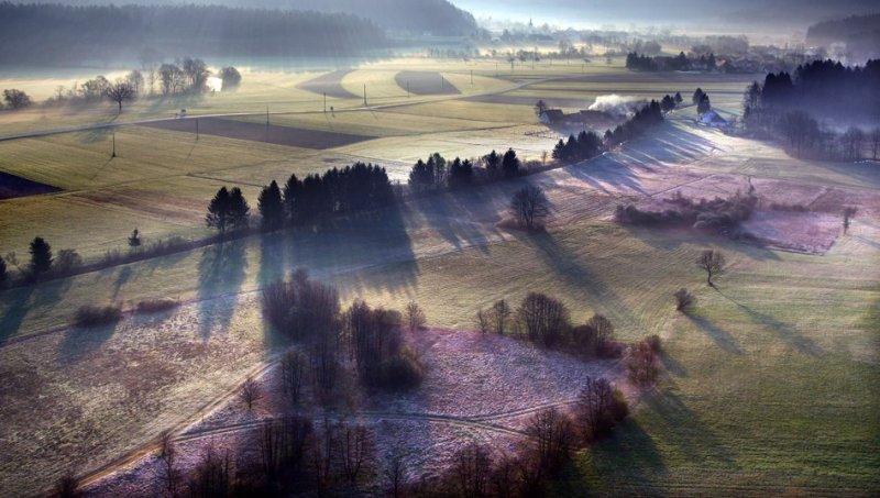Сказочные фотопейзажи аэрофотографа Матяжа Катера - №28