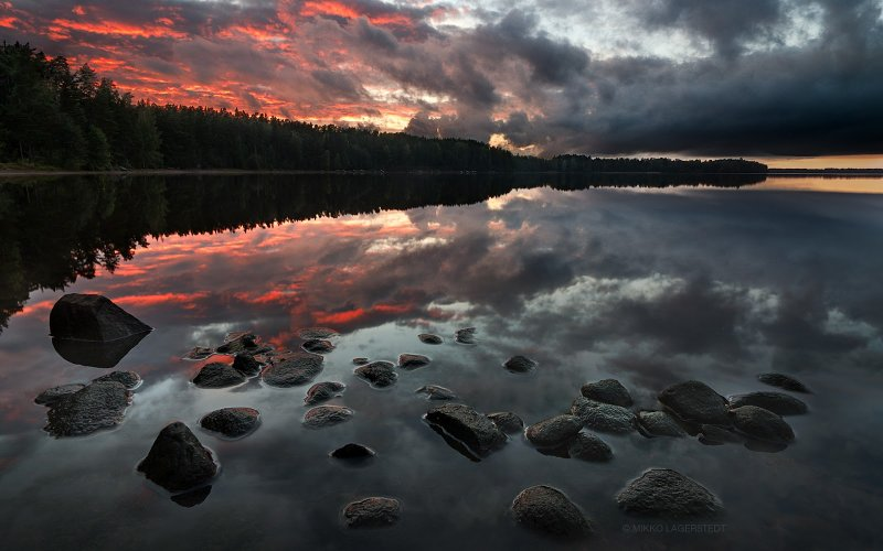 Финские пейзажи Микко Лагерстедта - №38