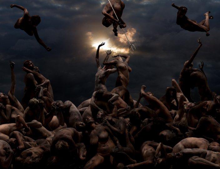 Движение человеческих тел в фотографиях Claudia Rogge - №13