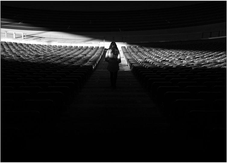 Черно-белое спокойствие симметрии Кая Зиля - №15