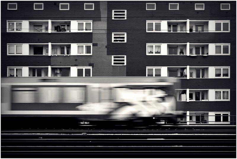 Черно-белое спокойствие симметрии Кая Зиля - №39