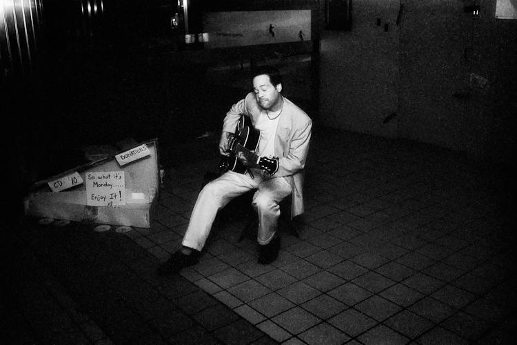 Черно-белый Нью-Йорк Дэйва Бекермана - №12